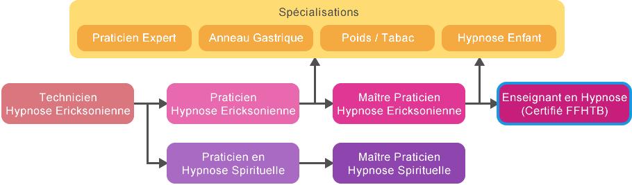 Schéma | Formation Enseignant Hypnose Tunisie